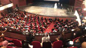"""إقبال جماهيري على عرض """"حظر تجول"""" بمهرجان القاهرة السينمائي (صور)"""