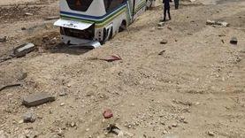 إصابة 18 شخصا في حادث انقلاب أتوبيس بجنوب سيناء