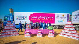 «تحيا مصر» يوفّر 75 طن مواد غذائية لـ4100 أسرة في الإسماعيلية