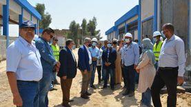 """رئيس """"القابضة للمياه"""": يتابع مشروع محطة حجازة بحري بقنا"""