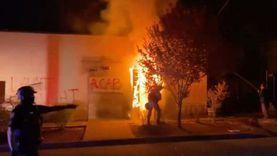 فوضى عارمة في بورتلاند.. التظاهرات المناهضة للشرطة الأمريكية لا تهدأ
