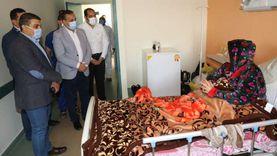 محافظ المنوفية يقدم كحك العيد هدية لمصابي كورونا والأطقم الطبية