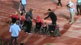 موسيماني يلبي طلب ذوي الاحتياجات الخاصة قبل لقاء التتويج بالدوري