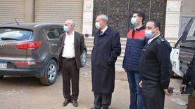 محافظ القليوبية يقود حملة لإزالة مبنى مخالف في شبرا الخيمة
