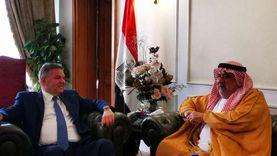 وزير قطاع الأعمال يبحث فرص الشراكة مع رئيس الاتحاد العربي للاستثمار