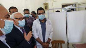 محافظ بورسعيد يتابع تنفيذ قرارات مجلس الوزراء للحد من انتشار كورونا