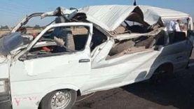 شاهد عيان يروي تفاصيل انقلاب ميكروباص زفة عروسين: إصابة 3 أطفال