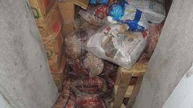 ضبط 4 أطنان لحوم ومواد غذائية فاسدة بثلاجتين في المنصورة
