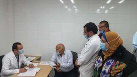القليوبية: زيادة أماكن التطعيم بلقاح كورونا إلى 8 مراكز