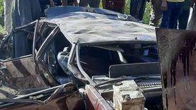 تفاصيل حادث كوبري أكتوبر.. كاميرا توثق الحادث