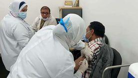 بدء تطعيم المواطنين بلقاح كورونا بمستشفى بني سويف التخصصي