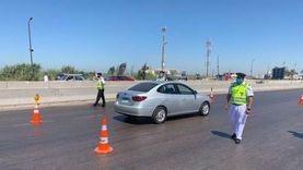 معاقبة مساعد شرطة لعدم تحليه بضبط النفس وتشاجره مع سائق بالغربية