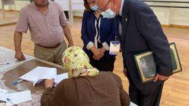 رئيس بعثة جامعة الدول العربية يتفقد مراكز انتخابية في القاهرة