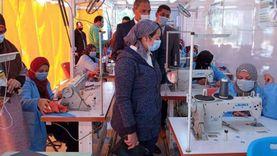نائب محافظ جنوب سيناء تتابع وحدات التدريب المتنقلة