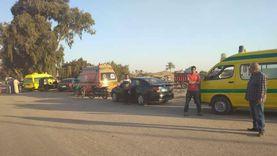 التحريات في حادث انقلاب سيارة بترعة المريوطية: 4 ساعات لانتشال الجثث