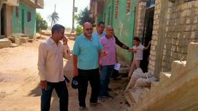 المنيا ترصد وتزيل 52 حالة بناء مخالف في إجازة عيد الأضحي