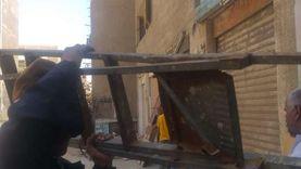 جهاز مدينة القاهرة الجديدة ينفذ حملات نهارية وليلية لإزالة الإشغالات