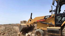 إزالة فورية لتعديات على مساحة 5800 متر في أسوان
