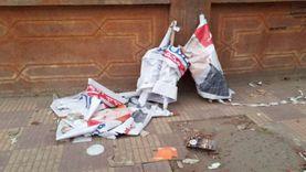 حرب تمزيق اللافتات تشتعل بالقليوبية والمرشحون يحتمون بكبار العائلات