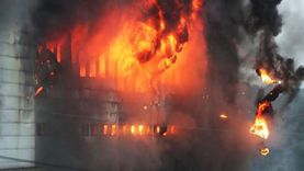 تفحم جثة عامل في حريق بمنزله بقنا