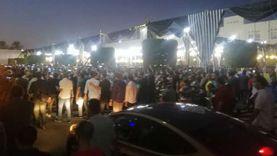 انتهاء مراسم تشييع جثمان محمد فريد خميس وسط دموع الحاضرين