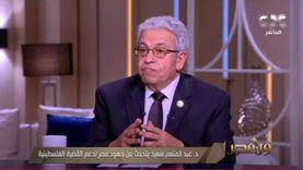 عبد المنعم سعيد عن إعادة إعمار غزة: «مصر رمت بياضها زي ما بيقولوا»