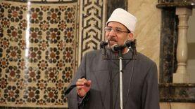 وزير الأوقاف يؤدي خطبة الجمعة بمسقط رأسه ببني سويف
