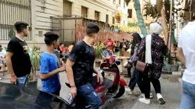 زحام في وسط البلد احتفالا بثالث أيام العيد في غياب الإجراءت الاحترازية