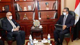 «العناني» يستقبل سفير دولة إيطاليا بالقاهرة لبحث تعزيز سبل التعاون