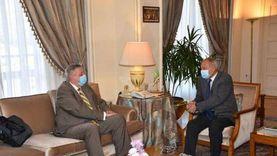 «أبو الغيط» يستقبل المبعوث الخاص للأمم المتحدة في ليبيا