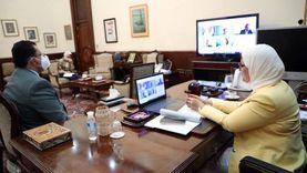 وزيرة الصحة تشكر وفد الأمم المتحدة وتستعرض إنجازات المبادرات الرئاسية