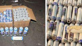 ضبط 2000 قرص من عقار الكبتاجون المخدر بحوزة شخصين في دمياط