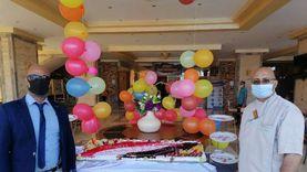"""الغردقة تحتفل باليوم العالمي للسياحة بـ""""تورتة علم مصر"""""""