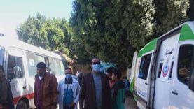قوافل طبية مجانية في مختلف التخصصات لأهالي قري أبوتيج