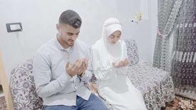 «الزهراء لايق» قارئة القرآن أمام الرئيس «عروسة» خلال أيام