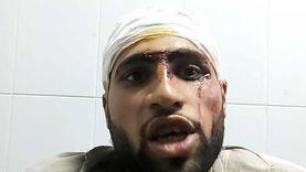 مصاب في حادث الصحراوي الشرقي: انفجار عجلة السيارة النقل سبب الحادث