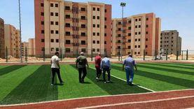 مدينة بدر تُسلم ملعبين خماسيين لوزارة الشباب والرياضة