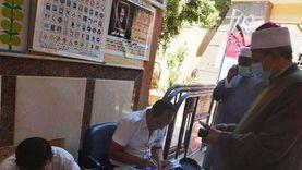 رئيس منطقة الأقصر الأزهرية يدلي بصوته في انتخابات مجلس الشيوخ