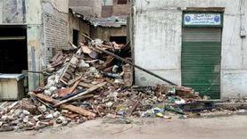 عاجل.. إخلاء مبنى بعد انهيار عقار مجاور له غربي الإسكندرية