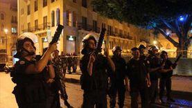 عاجل.. مواجهات بين قوات الأمن ومتظاهرين في لبنان