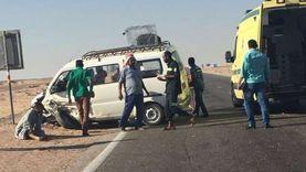 مصرع طفلين وخالتهما في حادث أعلى «دائري الجيزة»