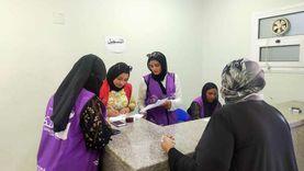 إقبال كبير على مراكز تطعيم لقاح كورونا الجديدة في بورسعيد