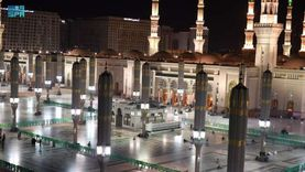 بث مباشر.. شعائر صلاة عيد الفطر المبارك من الحرم النبوي