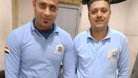 سائق ومسعف يسلمان مبلغ مالي عثرا عليه بحوزة مصاب في المنوفية