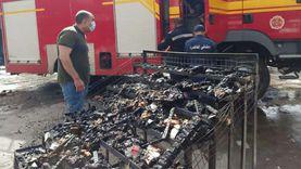 مصرع سائق وابنته في حريق سيارة على «الزراعي» بقليوب