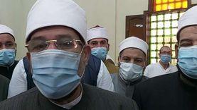 وزير الأوقاف: حريصون على صحة المواطنين ونوازن بين فتح المساجد والصحة