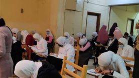 98.39% نسبة حضور طلاب الشهادة الإعدادية بامتحان التيرم الأول