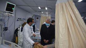اليوم.. بدء استقبال مرضى كورونا بمستشفى كفر شكر المركزي