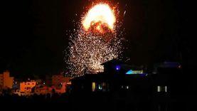 استشهاد فلسطينية وإصابة 8 في غارات إسرائيلية جنوبي غزة