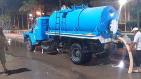 محافظ كفر الشيخ يتابع رفع مياه الأمطار من شوارع البرلس وبلطيم